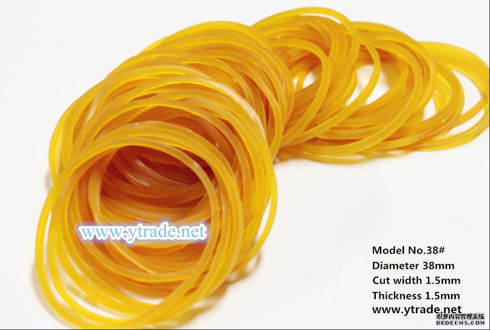 黄色天然橡胶圈