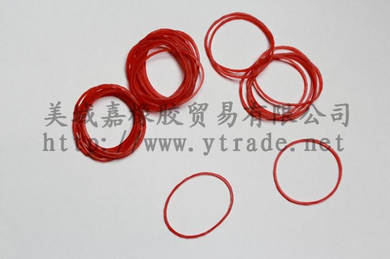 红色越南橡皮圈